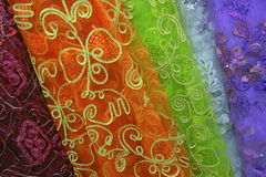 Fine fabric for sale Royalty Free Stock Images