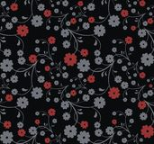 Fine floral pattern Stock Photo