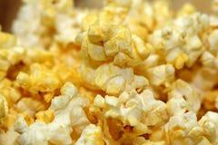 Fine fresca del popcorn su Fotografia Stock