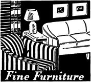 Fine Furniture Royalty Free Stock Images