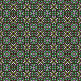 Fine geometric mosaic texture. In green and purple Stock Image