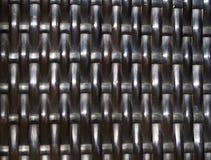 Fine geometrica di forma della sedia del modello di bambù di struttura su immagini stock libere da diritti
