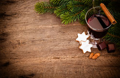 Fine german glühwein Royalty Free Stock Images