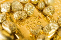 Fine gold royalty free stock images