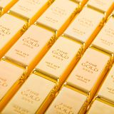 Fine gold 999,9 Royalty Free Stock Image