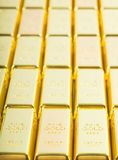 Fine gold 999,9. Royalty Free Stock Image