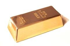 Fine Gold Bar Bullion Royalty Free Stock Image