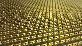 Fine gold bullions. 3D rendering. Multiple gold bullions. Realistic 3D rendering Stock Images
