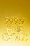 Fine gold closeup Stock Photo
