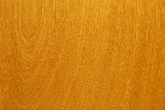 Fine Grain Wood. Fine grain natural surface in medium brown from a kitchen cabinet Stock Photography