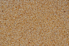 Fine Gravel Texture and Background in Natural color Royalty Free Stock Image