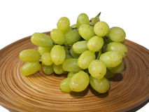 Fine green grapes Stock Photography