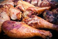 Fine grilled turkey legs Royalty Free Stock Photos