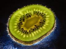 Fine image close up of kiwi background 02 Stock Photography