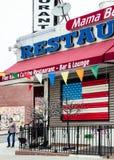 Fine Italian Cuisine restaurant in Brooklyn Stock Image