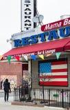 Fine Italian Cuisine restaurant in Brooklyn Stock Photo