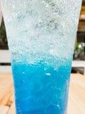 Fine italiana blu della soda su Fotografie Stock Libere da Diritti