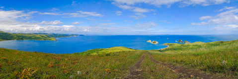 Fine kind of open spaces of sea of Japan Royalty Free Stock Photography
