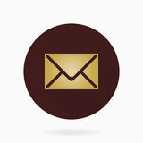 Fine Mail Flat Icon Royalty Free Stock Photography