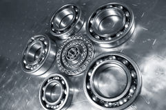 Fine-mechanical bearings Stock Images