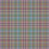 Fine modern stripes tartan. Modern tartan pattern with fine stripes Stock Photo