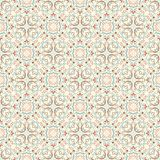 Fine oriental patterns in natural soft colors. Seamless oriental patterns. Stock Photos