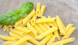 Fine penne noodles Stock Photography