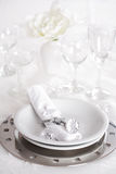 Fine place setting Royalty Free Stock Image