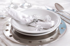 Fine place setting Stock Images
