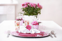 Fine place setting Royalty Free Stock Photos