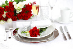Fine place setting Stock Photo