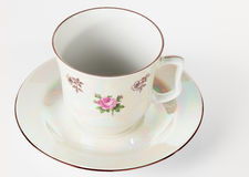 Fine porcelain cup Stock Photography