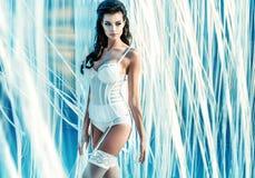 Fine portrait of a sensual angel Stock Image