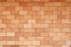 Fine Red brick wall. Can be use as 3D mapping or background Royalty Free Stock Photos