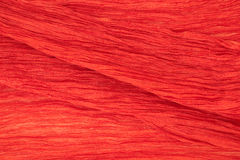 Fine red silk texture Royalty Free Stock Image