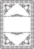 Fine remarkable baroque frame Stock Photo