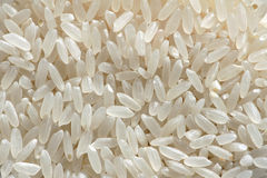 Fine rices. The background of polished rices stock photography