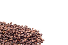 Fine roasted coffee beans Royalty Free Stock Image