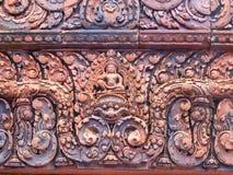 Fine sandstone carving Stock Image