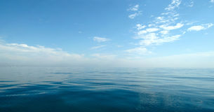 Fine sea panorama Royalty Free Stock Images