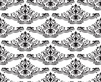 Fine seamless pattern. On white Royalty Free Stock Image