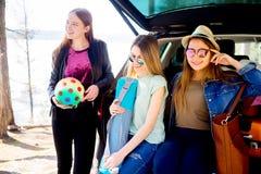 Fine settimana delle ragazze insieme Fotografie Stock