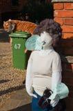 Fine settimana dello spaventapasseri di Lubenham Fotografia Stock