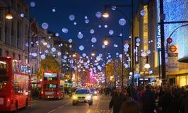 Fine settimana di Black Friday a Londra la prima vendita prima del Natale Immagini Stock
