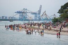Fine settimana nel Kochi Fotografie Stock Libere da Diritti