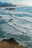 Fine show of blue ocean Stock Image