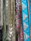Fine silk brocade Stock Image