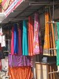 Fine silk brocade saree Royalty Free Stock Photo
