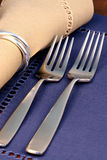 Fine silverware Stock Images