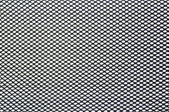 Fine steel mesh. Very fine steel mesh sheet, undistorted. Majority of the area is in sharp focus. This would make an ideal mask in your design Royalty Free Stock Images